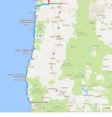 Newport Oregon Map by Oregon Coast Pedal Powered Adventure