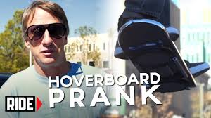 lexus hoverboard sell huvr tech tony hawk reveals hoverboard prank youtube