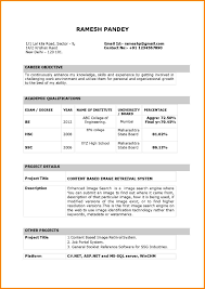 Resume Cover Letter For Freshers Resume Format India Resume Cv Cover Letter