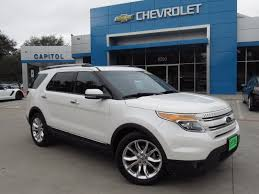 Ford Explorer Roof Rack - pre owned 2011 ford explorer limited sport utility in austin