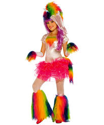 Kids Halloween Costumes Usa Rainbow Unicorn Kids Halloween Costume Girls Costumes