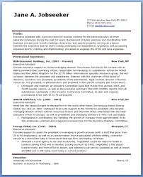 Sample Resume For Admin Assistant by Executive Assistant Resume Samples Ilivearticles Info