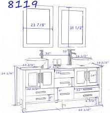 Standard Height For Bathroom Vanity Standard Height Of Wash Basin - Height of bathroom vanity for vessel sink