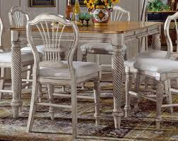 hillsdale wilshire counter height dining collection antique