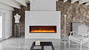 50 Electric Fireplace by Vista Bi 60 7 Electric Fireplace Sierra Flame