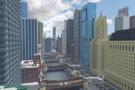 Minecraft New York Map Download by Recreating Chicago U0027s Famous Skyline In Minecraft Curbed Chicago