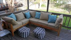 ana white outdoor sectional couch diy projects