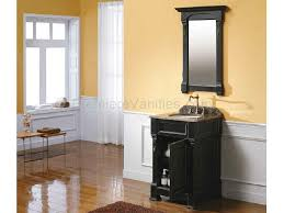 Wall Decor Bathroom Ideas Bathroom Black Bathroom Vanity With Brown Wooden Floor And Brown