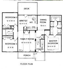 Home Builder Floor Plans by Wesley House Plans Home Builders Floor Plans Blueprints