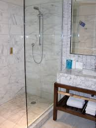 Shower Designs For Small Bathrooms 30 Pictures Of Bathroom Design With Large Subway Tile