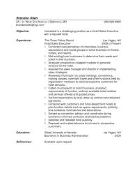 Sales Manager Resume Samples Resume Sample For S Template Resume     Brefash     Appealing Objective And Experience And The Three Palms Resort Regional Sales Manager Resume Objective Sales Supervisor