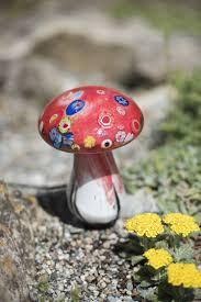 Outdoor Mushroom Lights by Glass Mushroom Solar Light Gardener U0027s Supply