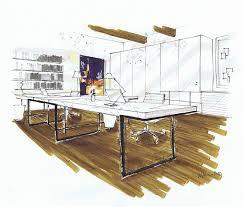 Home Design Software Blog Michelle Morelan U0027s Hybrid Drawings For Interior Design Sketchup Blog