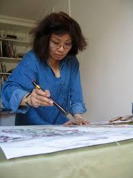 Hélène HO est diplômée de l\u0026#39;Ecole des Beaux-Arts de Taipei et riche de plus de 20 ans d\u0026#39;enseignement, notamment à Passeport pour la Chine. - hélène2