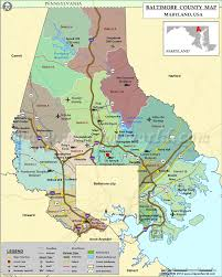 Map Of Cities In Usa by Baltimore County Map Maryland