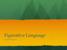 Figurative Language Grade   Literacy  Definition  Figurative