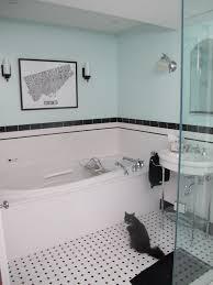 new black white blue bathroom home design new marvelous decorating