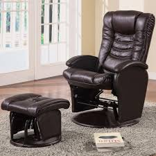 Swivel Recliner Chairs For Living Room Coaster Recliners With Ottomans Casual Glider Recliner Chair With