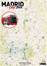 Madrid Spain Map by Map Of Madrid Tourist Attractions Sightseeing U0026 Tourist Tour