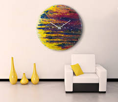 Art On Walls Home Decorating by 30 Large Wall Clocks That Don U0027t Compromise On Style