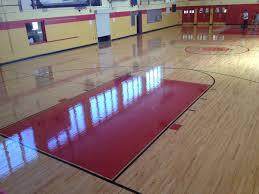 basketball court installation in nj hardwood flooring