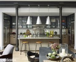 kitchen style modern industrial kitchen design stainless steel