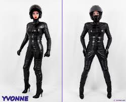 womens black leather biker boots biker boots botas casco catsuit cuero girls gloves guantes