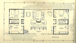 vintage house plans mid century homes large with modern floor plan