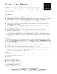 Best Resume Job by Creating A Great Resume Resume For Your Job Application