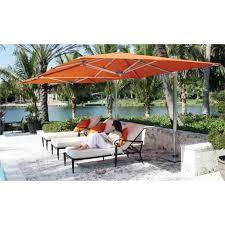 Paint Patio Umbrella by Outdoor U0026 Garden Elegant Latte Patio Cantilever Umbrella Best