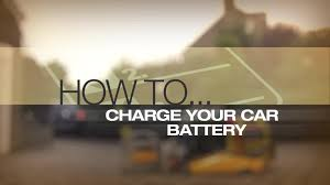 help u0026 advice charging your car battery guide video