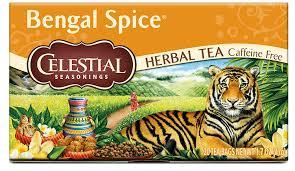 amazon com celestial seasonings herbal tea bengal spice 20