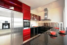 Red And Black Kitchen Ideas 100 Ideas Kitchen Designs Red Kitchen Furniture Modern Kitchen On