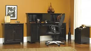 Sauder Black Bookcase by Modern Cottage Furniture Collection Edge Water Living Room
