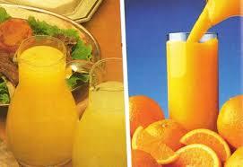 Portakal şurubu yapılışı
