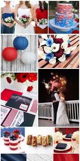 Patriotic Wedding This special edition of Design Dish    Patriotic Wedding is here just in time for the of July  This fun and festive inspiration board     Pinterest