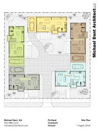 interior courtyard house plans small home picturesque 18 vitrines