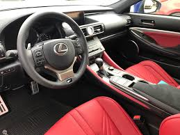 lexus rc red interior welcome to club lexus rc f owner roll call u0026 member introduction