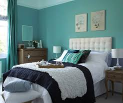Painting One Wall Aqua Blue  Art Decorating Ideas Wall - Turquoise paint for bedroom