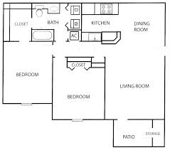 3 Bedroom Apartment Floor Plan 20 3 Bedroom Floor Plans Manoir Baudriere Floorplans