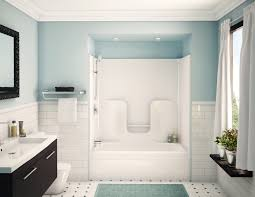 bathroom simple and neat bathrooms look using brown tile