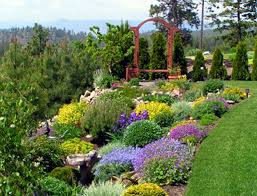 bed landscaping ideas