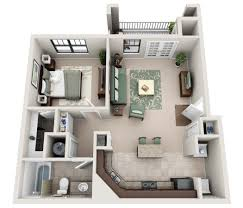 Single Bedroom Apartment Floor Plans by One Two And Three Bedroom Apartments In Murfreesboro Tn