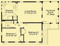 Floor Plan 2 Bedroom Apartment Best 25 2 Bedroom Floor Plans Ideas On Pinterest Small House