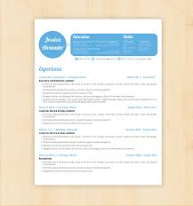 Free Microsoft Word Resume Templates for Download Alib