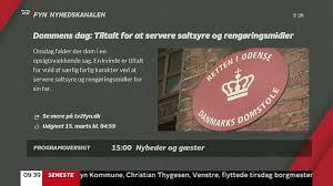 Holdt      rig fanget  Nu starter overfaldsmandens ankesag   TV   Fyn TV  Fyn Live TV