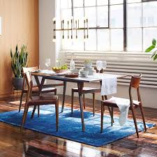MidCentury Expandable Dining Table West Elm - Century dining room tables