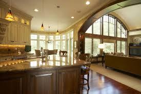 Open Floor Plans For Houses Lovely Large Kitchen House Plans Part 4 Luxury Restaurant Open