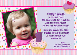1st Year Baby Birthday Invitation Cards First Birthday Party Invitations Quotes Cogimbo Us