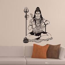 shiva wall decals vinyl adhesive stickers home decor hinduism shiva wall decals vinyl adhesive stickers home decor hinduism indian religion god wall stickers living room decoration cheap tree wall decals cheap vinyl